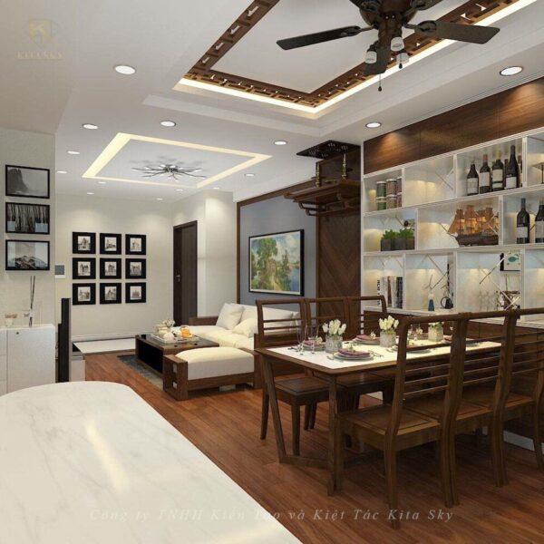 Thiết kế nội ngoại thất chung cư là dịch vụ ngày càng được nhiều khách hàng đón nhận