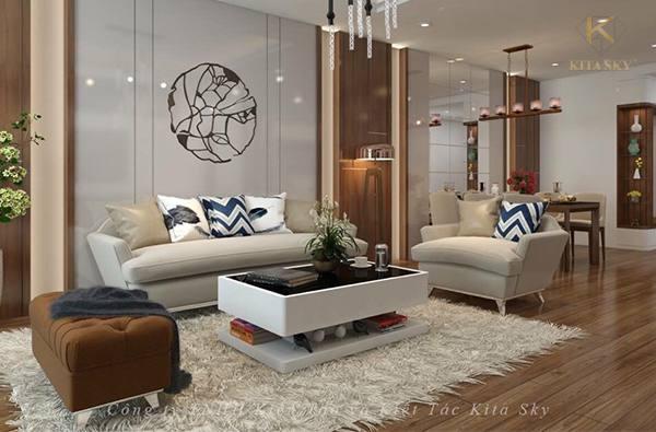 Nội thất Kita chuyên thiết kế nội thất chung cư cao cấp và thi công trọn gói giá tốt nhất thị trường.