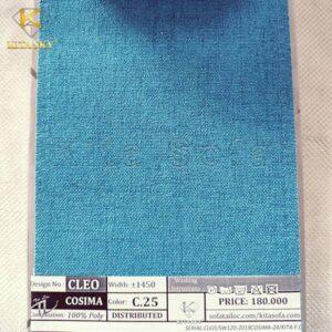 Vải màu xanh dương cho căn phòng đậm chất tươi mát của biển khơi