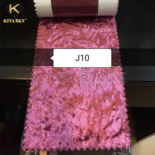 Vải nhung nỉ màu hồng thể hiện sự ngọt ngào và quyến rũ. Được các nàng vô cùng ưa chuộng
