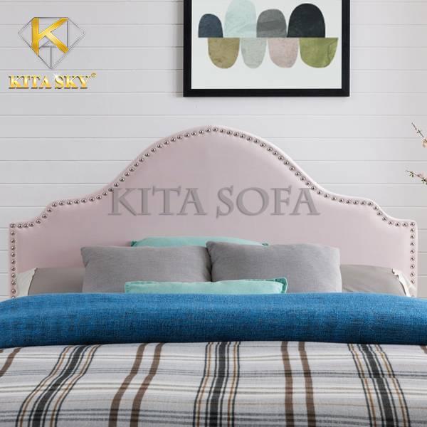 Màu hồng Pastel ngọt ngào của tấm nệm gắn đầu giường Sullivan thích hợp cho cô nàng yêu thích sự ngọt ngào và lãng mạn. Cho không gian trở nên êm dịu và nhẹ nhàng hơn!