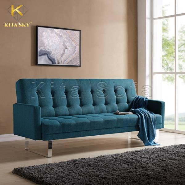 Giường ngủ thông minh kết hợp sofa tiết kiệm không gian tối đa