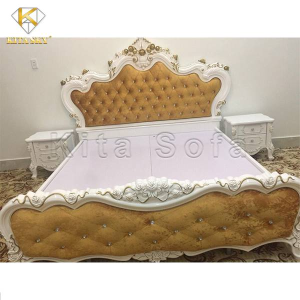 Mẫu giường cổ điển sang trọng – Phong cách sống thượng lưu
