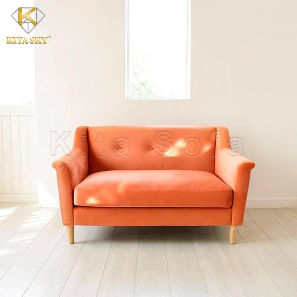 Thiết kế phòng khách nhỏ 10m2 thích hợp với ghế sofa đơn giản