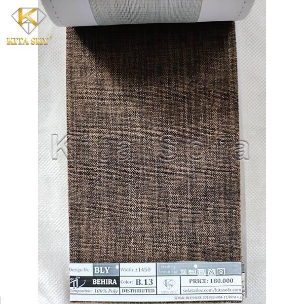 Mẫu vải sofa bố màu nâu hiện đại, trầm ấm và sang trọng