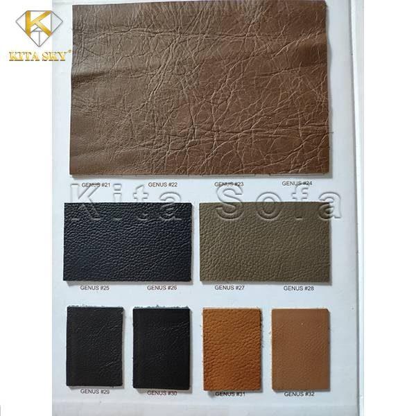 Mẫu da sofa sản xuất tại Ý – Mỗi thương hiệu sẽ được nhận diện riêng biệt