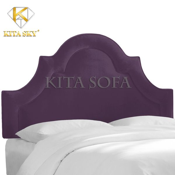 Ốp Đầu Giường Skyline là một mẫu nệm vách giường hiện đại pha lẫn đường nét tân cổ điển cho không gian ngày một sang trọng hơn.