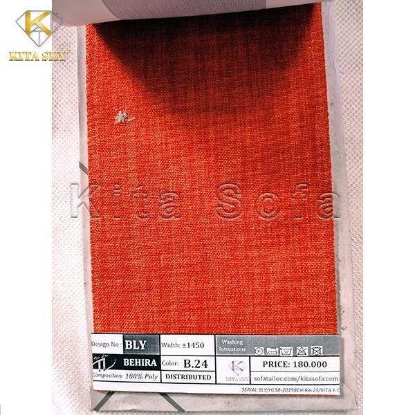 Vải sofa màu cam cho không gian rực rỡ và ấm cúng, đầy bắt mắt