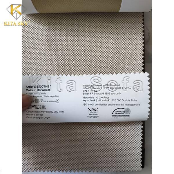Mẫu vải sofa nhập khẩu từ Bỉ chính hãng ưu tú về chất lượng, đa dạng về màu sắc