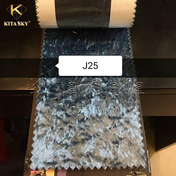 Mẫu vải nỉ may sofa màu xám xanh quyến rũ