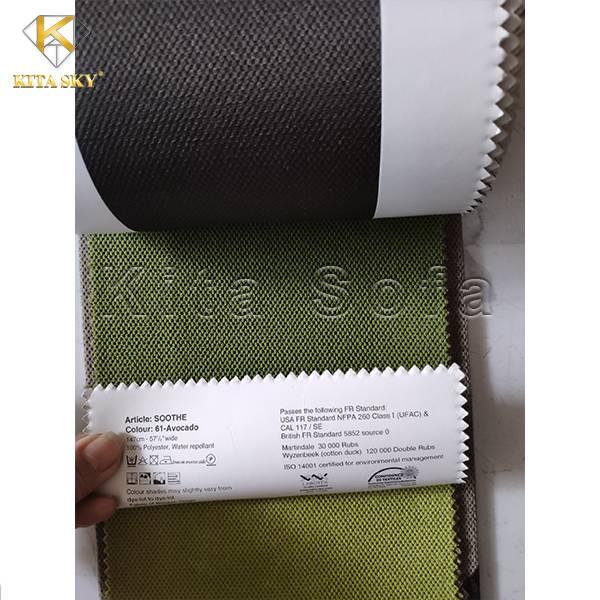 Mẫu Vải Sofa Bỉ Soothe - Dòng vải cao cấp được ưa chuộng nhất hiện nay