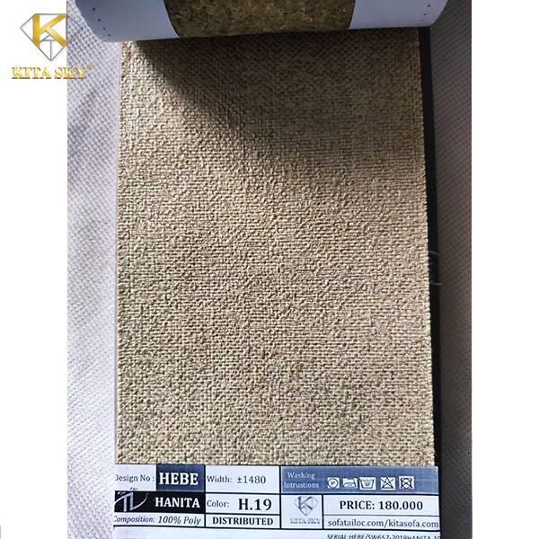 Tham khảo ngay mẫu vải sofa bố Hanita – Vải bọc ghế sofa nhập khẩu bán chạy tại Kita