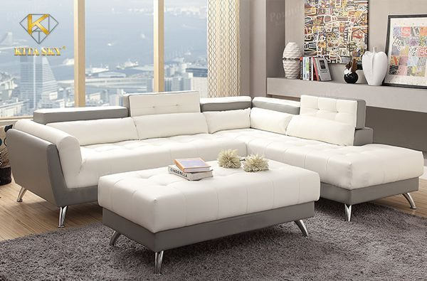 Bọc ghế da nhập khẩu loại tốt cũng giúp bộ sofa sử dụng được lâu