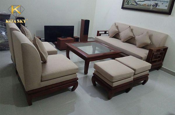 Bọc mới ghế sofa tại nhà giá rẻ, chuyên nghiệp uy tín là dịch vụ hàng đầu tại nội thất Kita