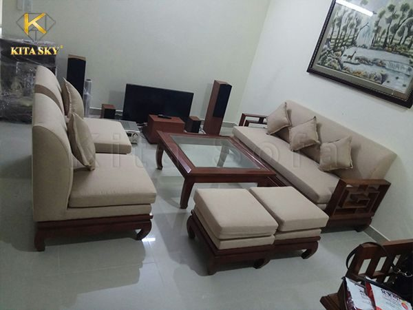 Nội thất Kita mang đến các dịch vụ bọc mới ghế sofa đẹp. Giúp khách hàng phục hồi và tân trang bộ ghế cũ thẩm mỹ nhất