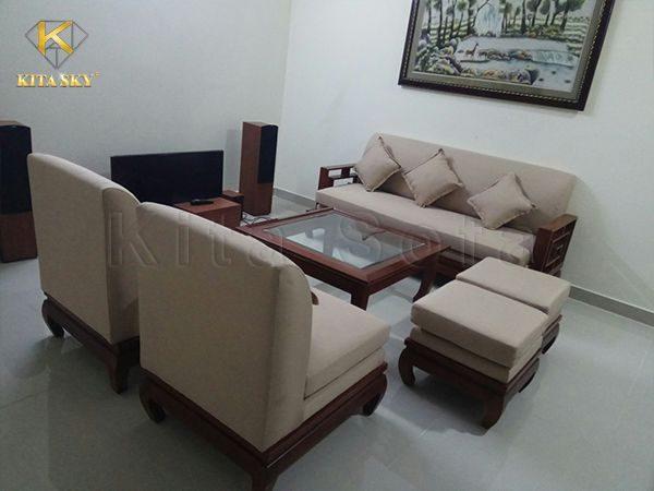 Dịch vụ bọc mới sofa tại Kita được yêu thích bởi tiêu chí: đẹp - bền - giá phải chăng.