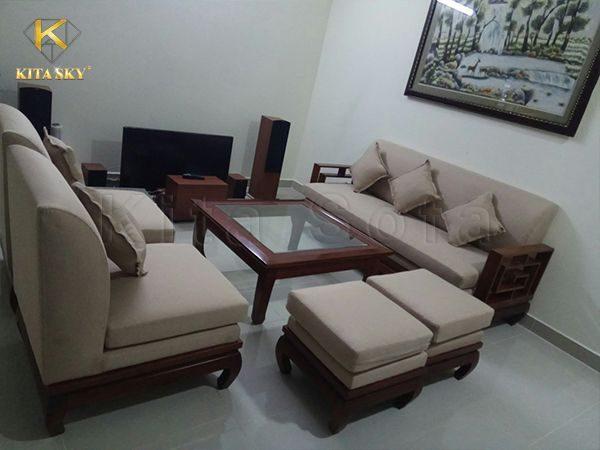 Kita nhận bọc nệm ghế sofa tại TPHCM và các tỉnh thành lân cận