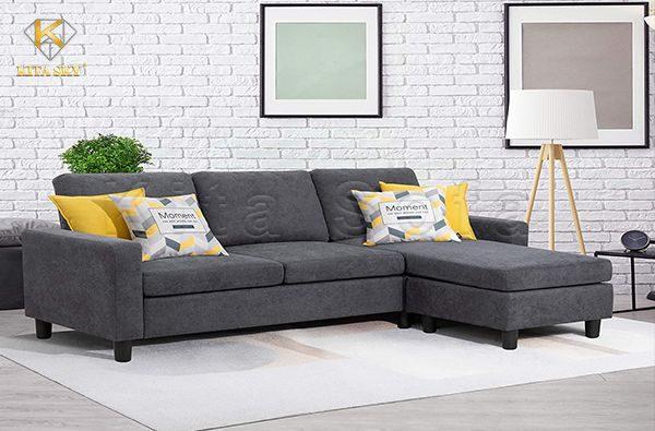 Sửa Chữa Bọc Lại Ghế Sofa Góc Chữ L Giá Rẻ Tại Nhà Kita
