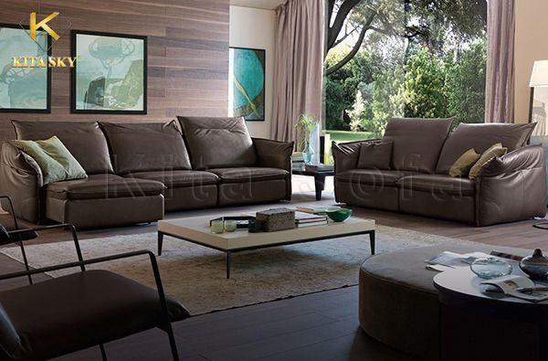 Bọc ghế sofa q1 giúp tân trang bộ ghế đẹp như mới, vệ sinh hơn.