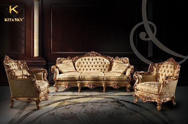 Sửa chữa, bọc ghế sofa tân cổ điển giúp khách hàng tiết kiệm hơn mua mới