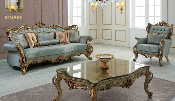 Kita là công ty bọc ghế sofa cổ điển uy tín giúp bộ ghế được tân trang bền đẹp như mới.
