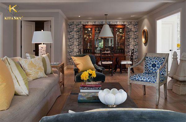 Nội thất châu Âu mang lại hiệu ứng sang trọng và đẳng cấp khi thiết kế nhà ở hiện nay