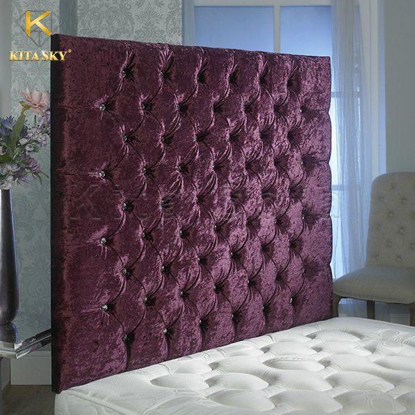 Vách ốp bằng vải nệm