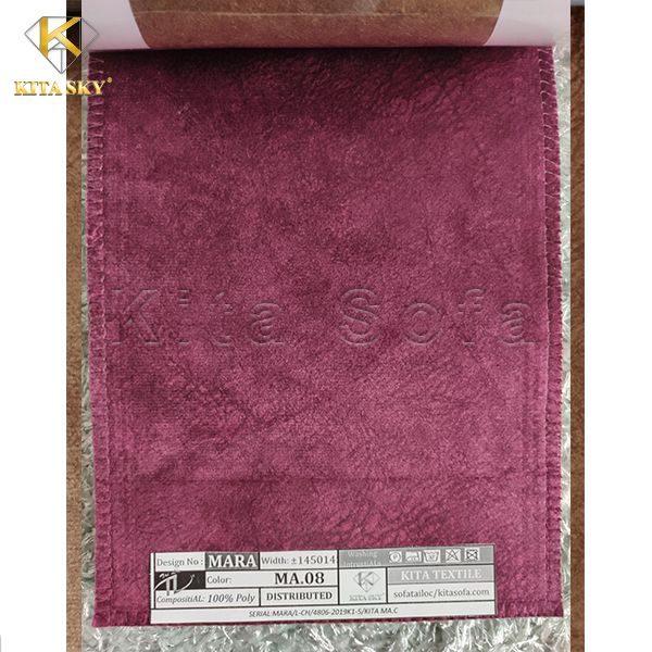 Các loại vải sofa cao cấp màu hồng tím sang trọng, ngọt ngào và đầy quyến rũ