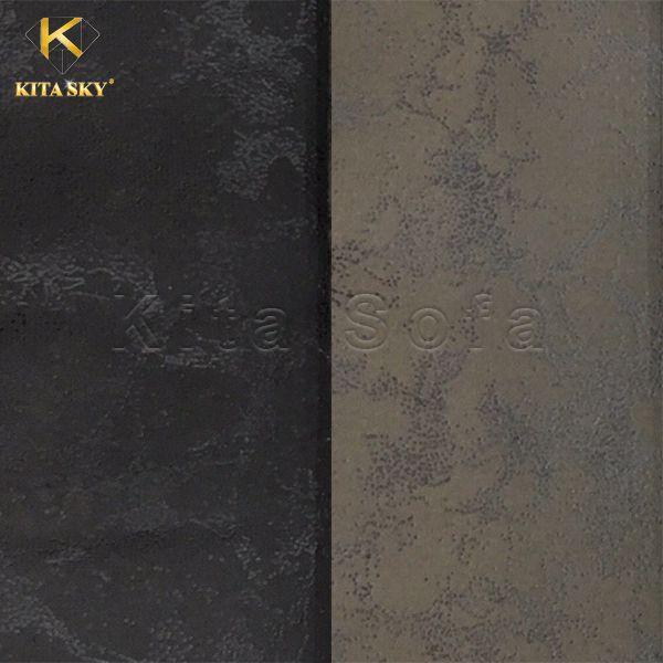 Vải bọc ghế da màu tối và trung tính luôn là lựa chọn của nhiều khách hàng bởi ưu điểm vệ sinh và dễ đặt vào nhiều không gian