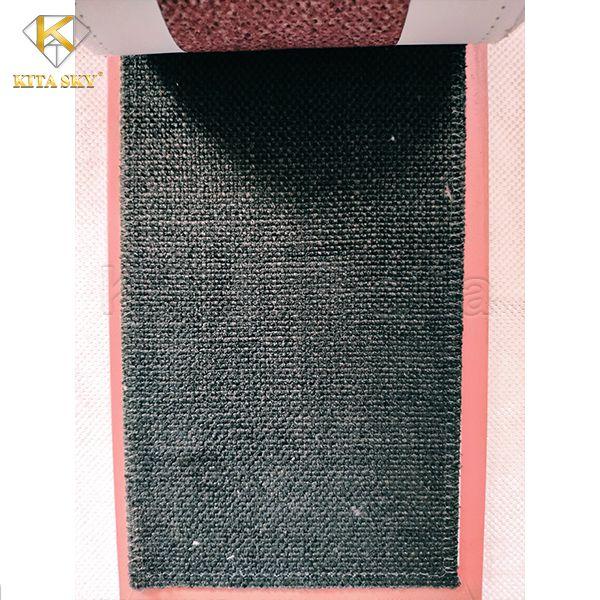 Vải may bọc ghế sofa màu xám đen hiện đại, nhã nhặn