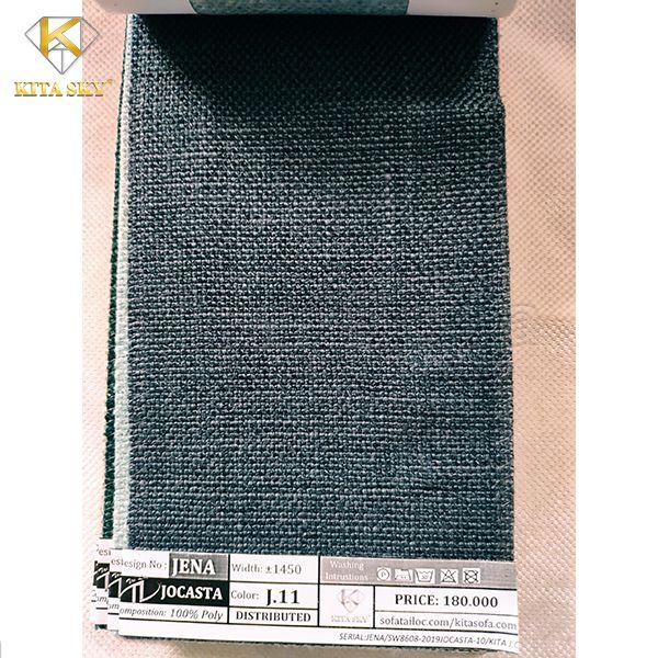 Vải may gối sofa màu xanh đen cũng rất được nhiều khách hàng yêu thích