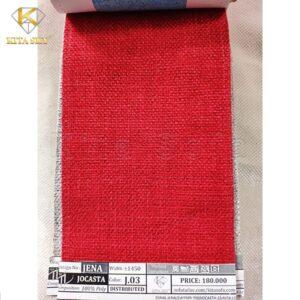 Vải may nệm ghế sofa màu đỏ ấn tượng và rực rỡ giúp làm nổi bật không gian hoàn hảo nhất