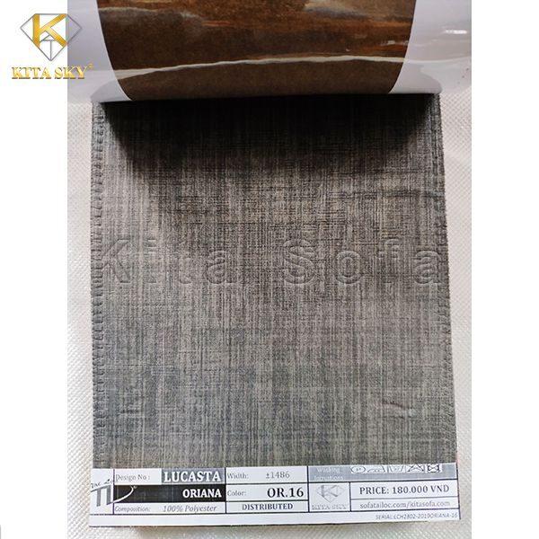 Vải bố cho sofa màu xám lông chuột trung tính
