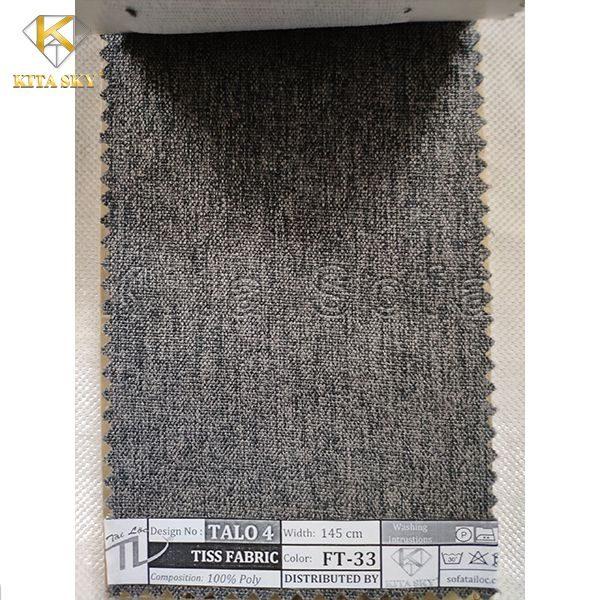Vải làm sofa chất lượng màu xám lông chuột hiện đại