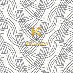 Vải họa tiết hoa văn bốn chiều Four-way layout pattern