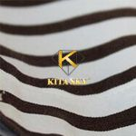 Vải họa tiết Breton stripe pattern