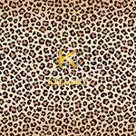 Vải họa tiết da báo Leopard pattern
