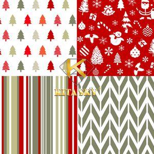 Vải họa tiết giáng sinh Christmas pattern
