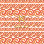 Vải hoa văn gradation pattern