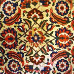 Vải họa tiết Herati pattern