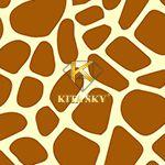 Vải họa tiết hươu cao cổ Giraffe pattern