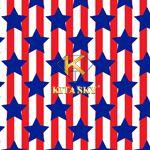 Vải họa tiết Patriotic pattern