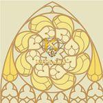 Vải họa tiết Tracery pattern