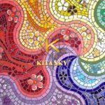 Vải họa tiết tranh khảm Mosaic pattern