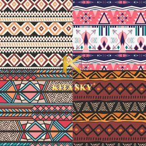 Vải hoa văn boheiman pattern