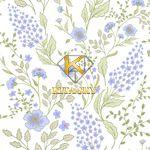 Vải hoa văn Calico pattern