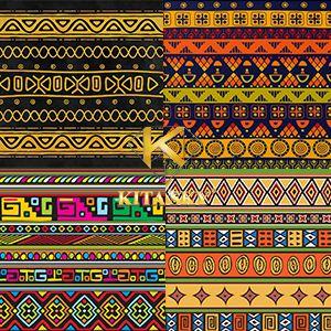 Vải hoa văn châu Phi African pattern