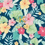 Vải hoa văn Hawaiian pattern