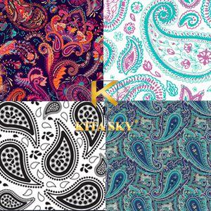 Vải hoa văn họa tiết Paisley pattern