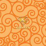 Vải hoa văn mô hình xoay Swirl pattern